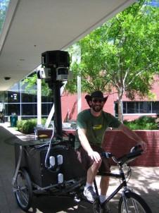 googletrike collect data for street view